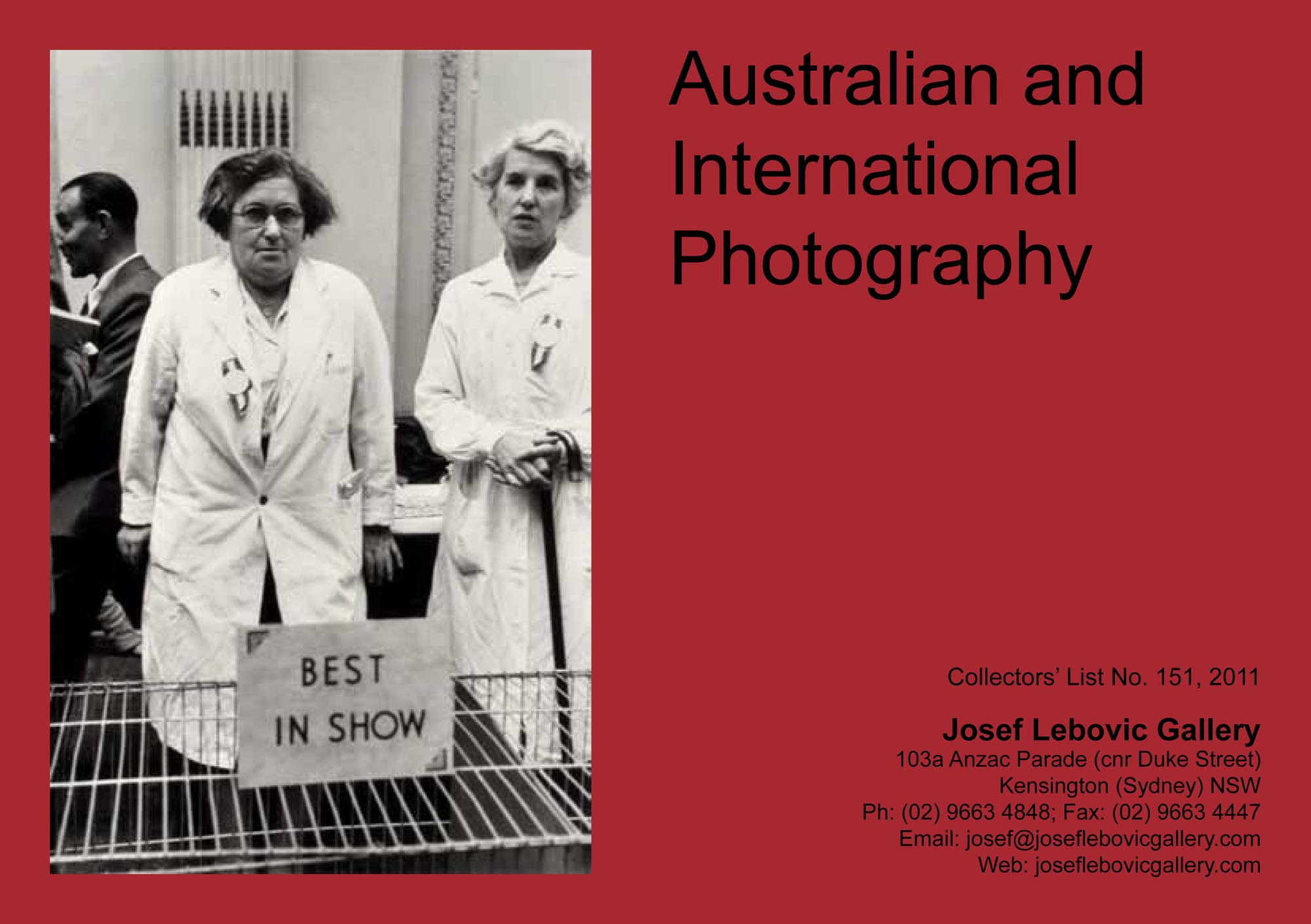151 - Australian & International Photography