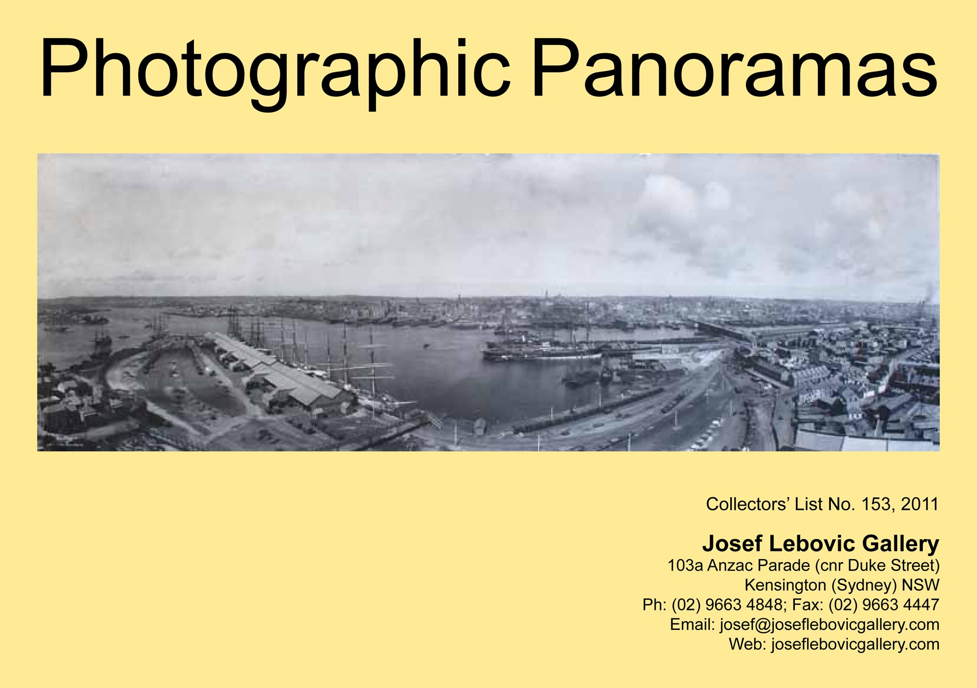153 - Photographic Panoramas