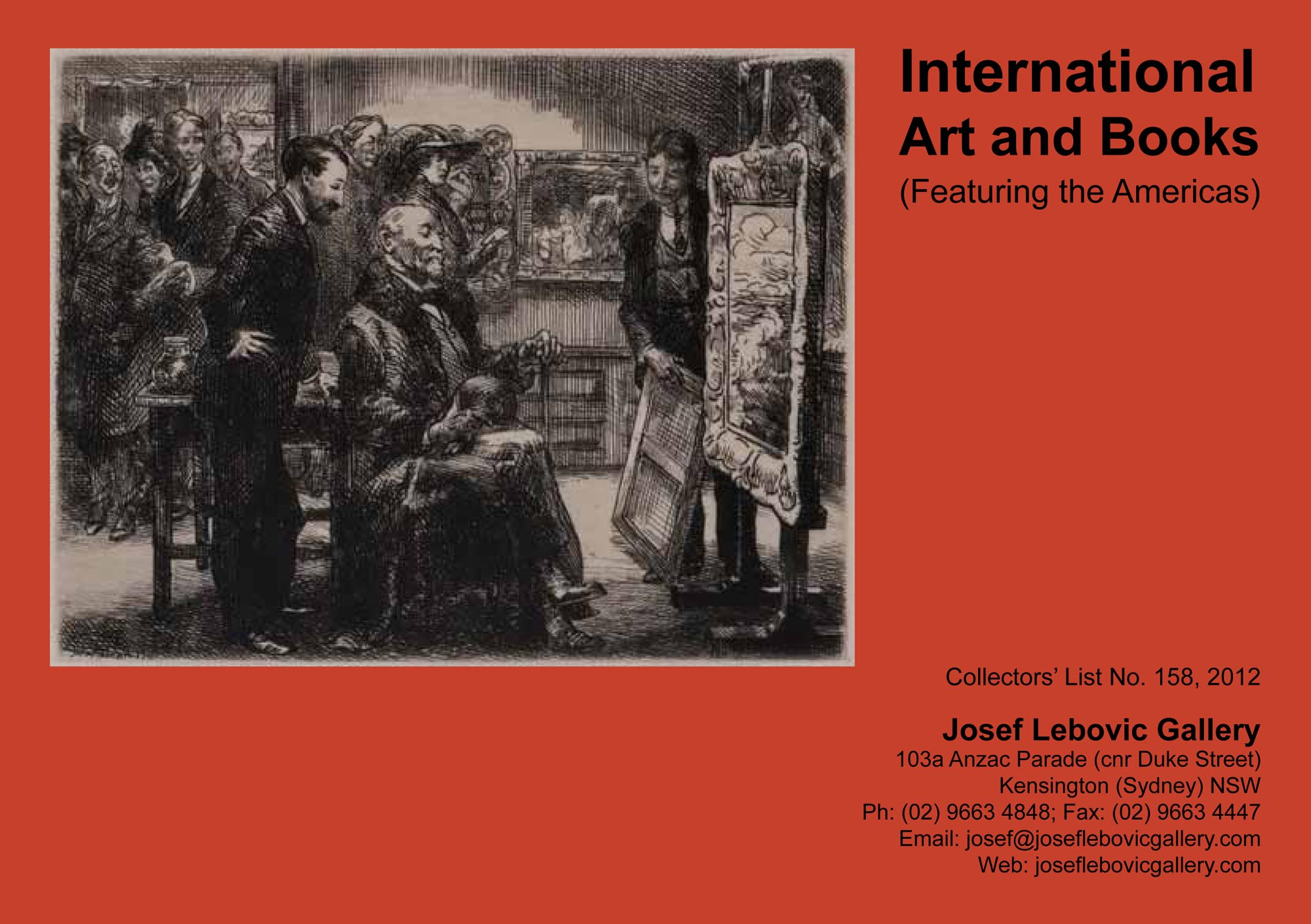 158 - International Art and Books