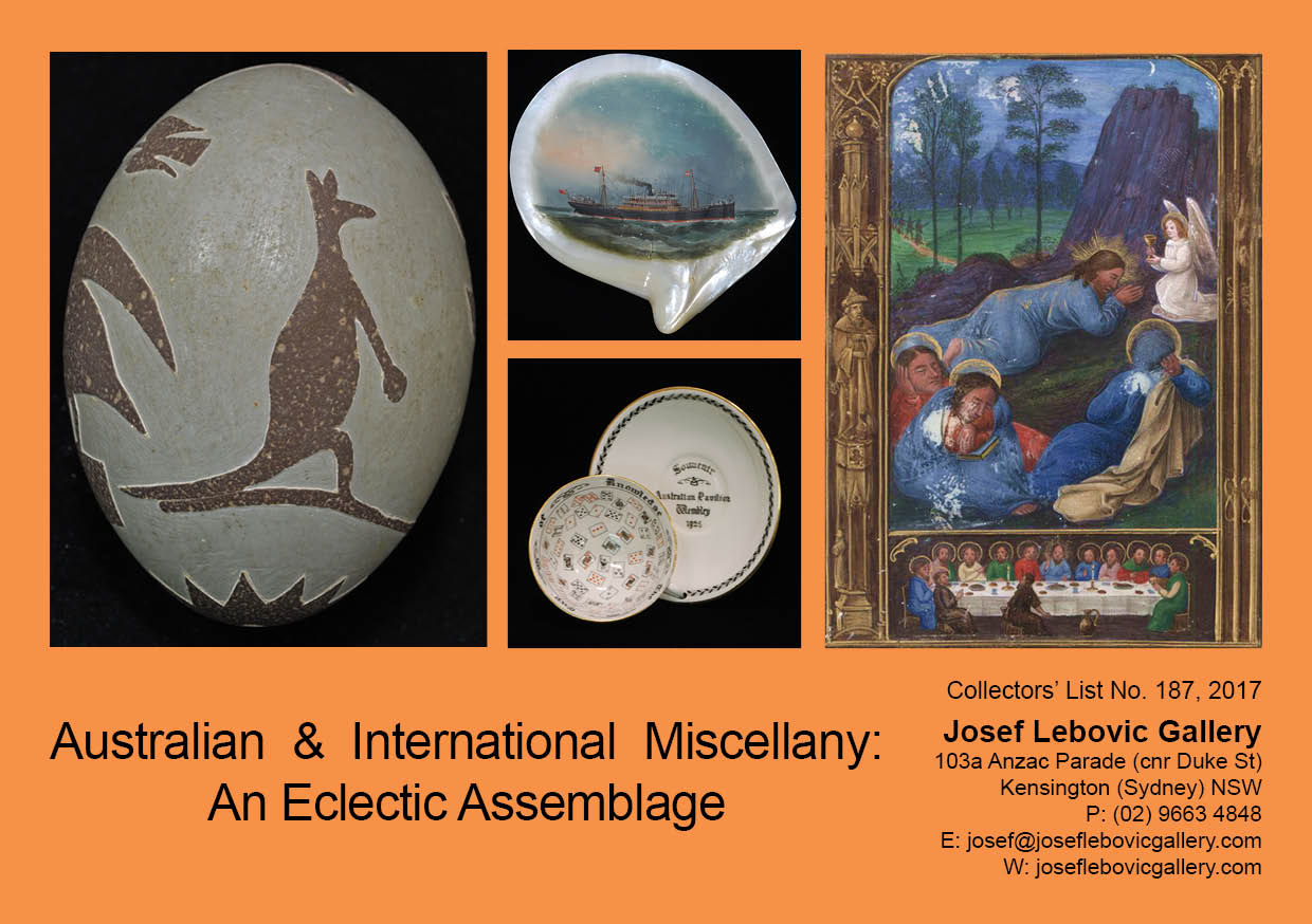 187 - Australian & International Miscellany