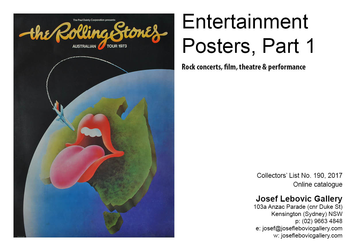 190 - Entertainment Posters, Part 1