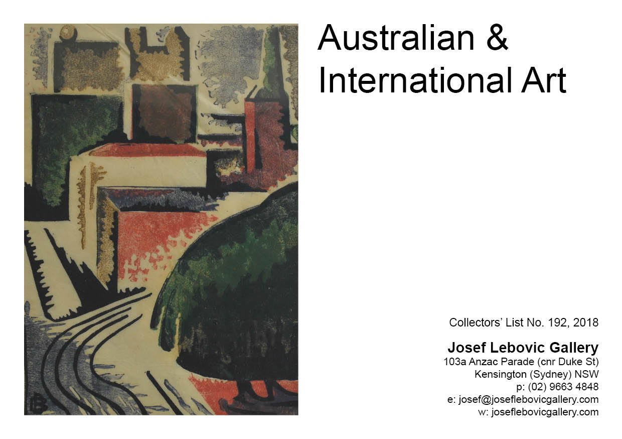 192 - Australian & International Art