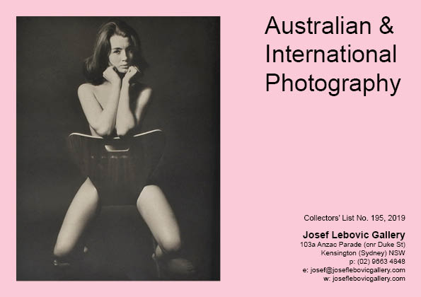 195 - Australian & International Photography