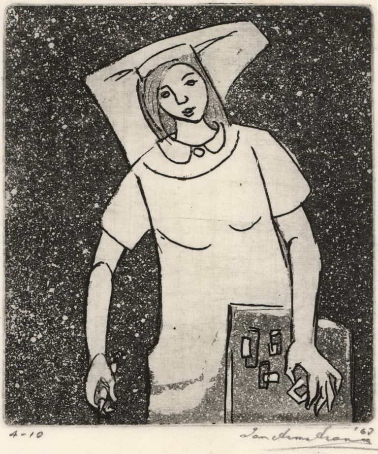 [Nurse With Medications]. Ian Armstrong, Aust.