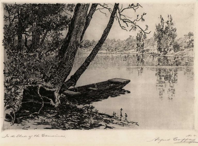 In The Shade Of The Casuarina. Alfred Coffey, Aust.