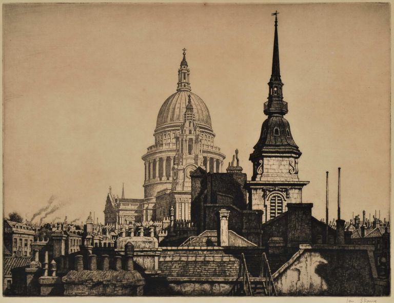 [St Paul's Cathedral, London]. Ian Strang, Brit.