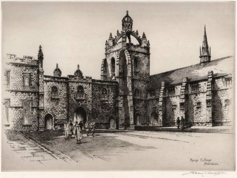 King's College, Aberdeen. Albany E. Howarth, Brit.
