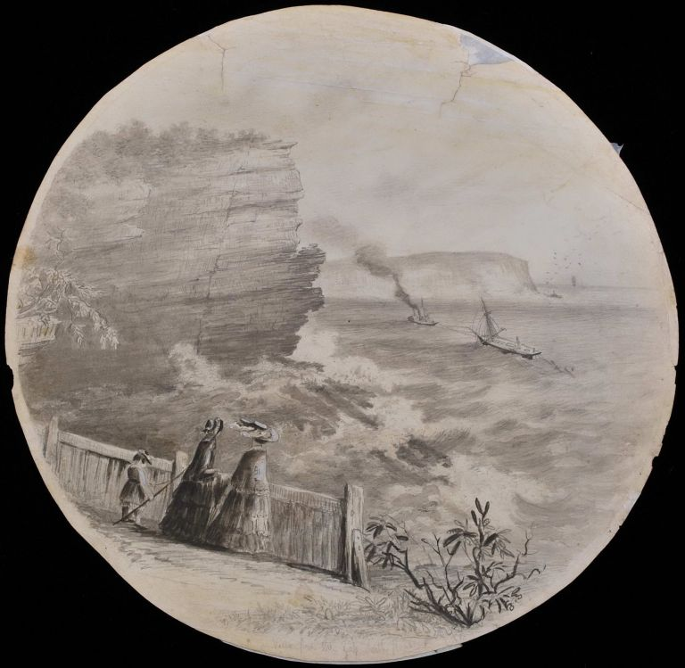 View From The Gap, South Head [NSW]. Edward Turner, Brit./Aust.