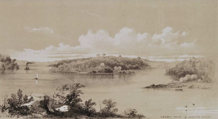 Tarban Point And Mission House [Hunters Hill, NSW]. F C. Terry, Aust.