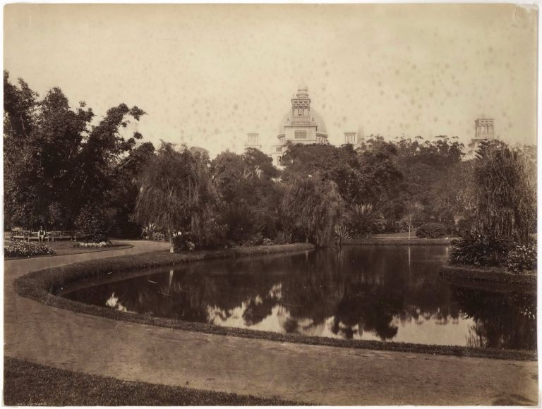 [Garden Palace, Sydney, Before And After Its Destruction By Fire]