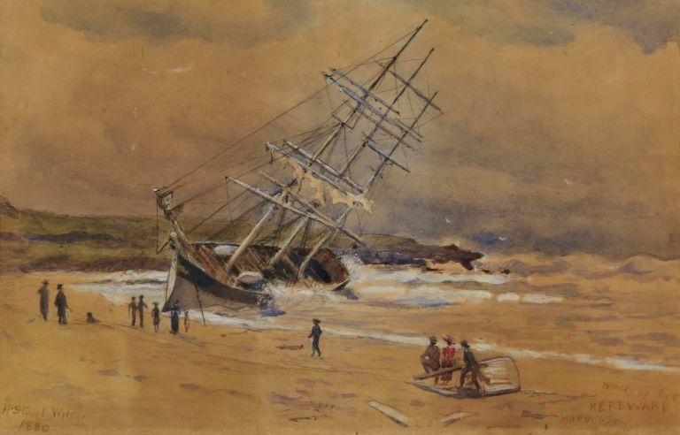 "Wreck Of The ""Hereward"", Maroubra"