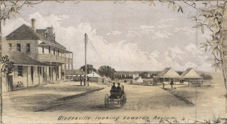 Gladesville, Looking Toward Asylum [NSW]