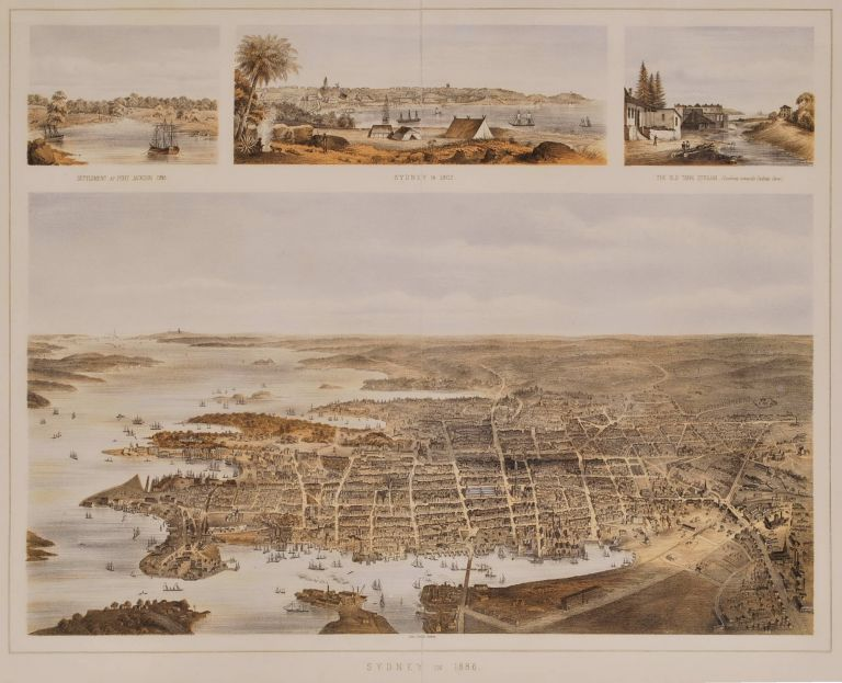 [Views Of Old Sydney]. John Sands Ltd, fl. Aust.