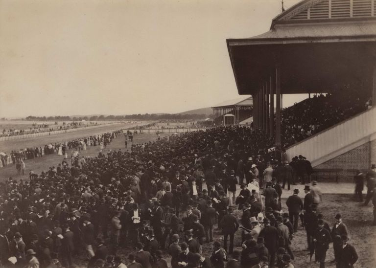 The Lawn, Randwick Racecourse. Charles Kerry, Aust.