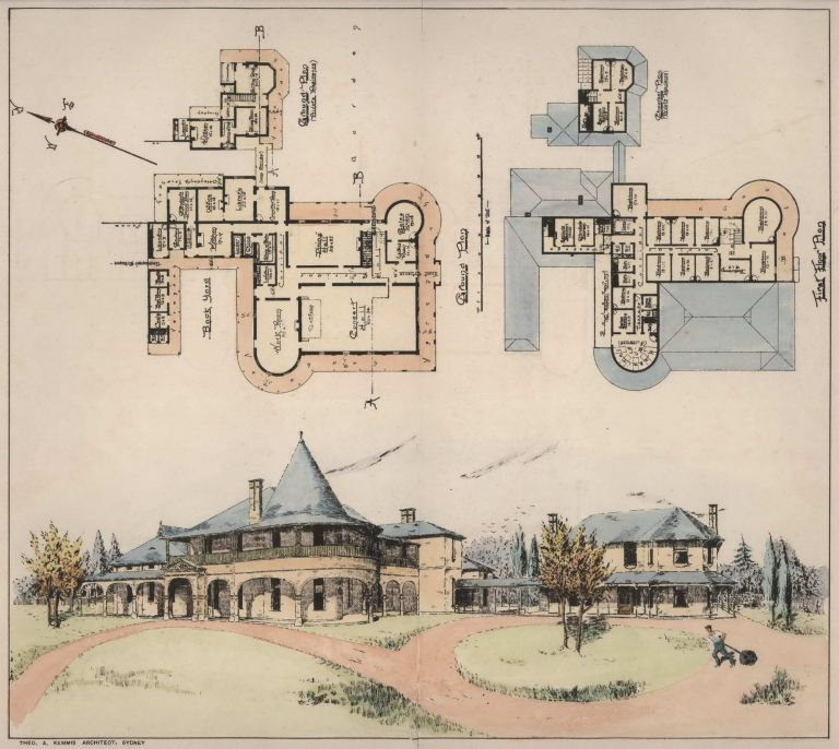 Competitive Design For The Industrial Home For Blind Women, Homebush, NSW