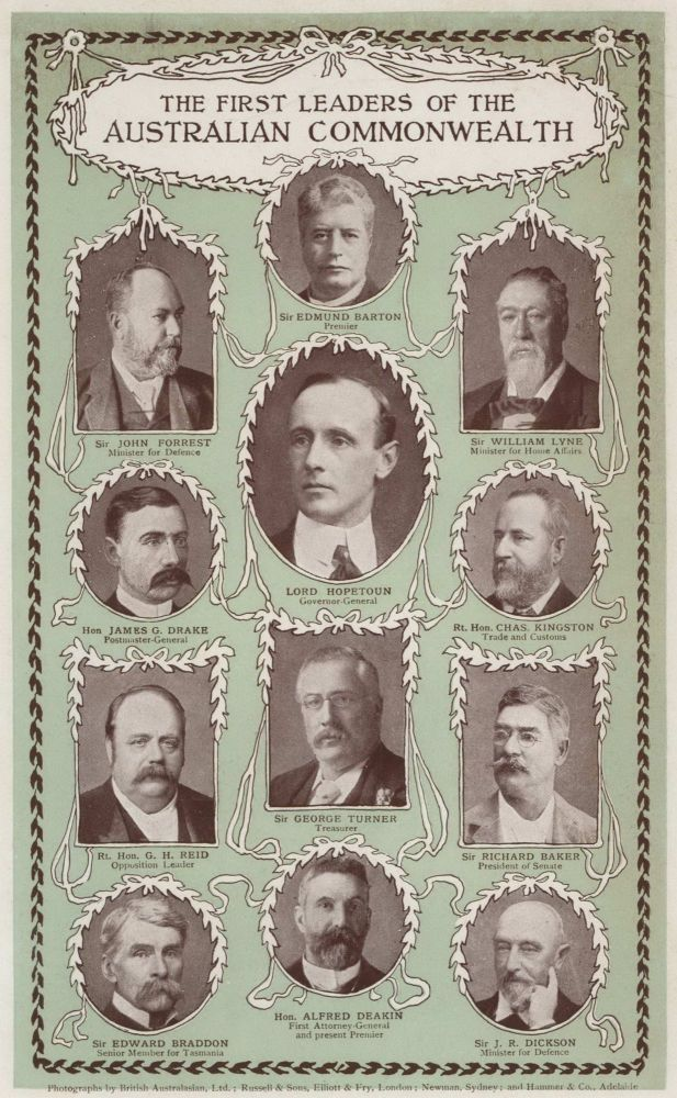 The First Leaders Of The Australian Commonwealth