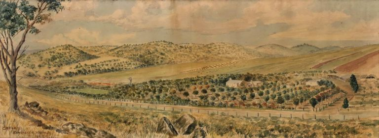 Orchard, Bundaleer Springs, [Commissioned For] F.C. Gerke. J J. Christie, Aust.