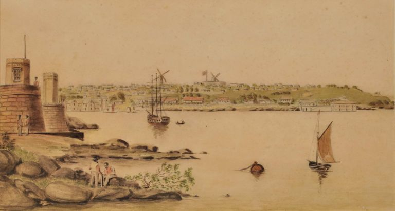 [Sydney Cove And Fort Denison From Bennelong Point]