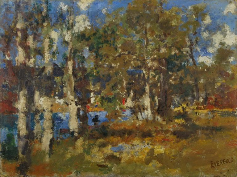 Narrabeen Lakes No. 3. Miles Evergood, Australian.