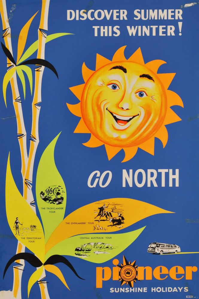 Discover Summer This Winter, Go North. Pioneer Sunshine Holidays