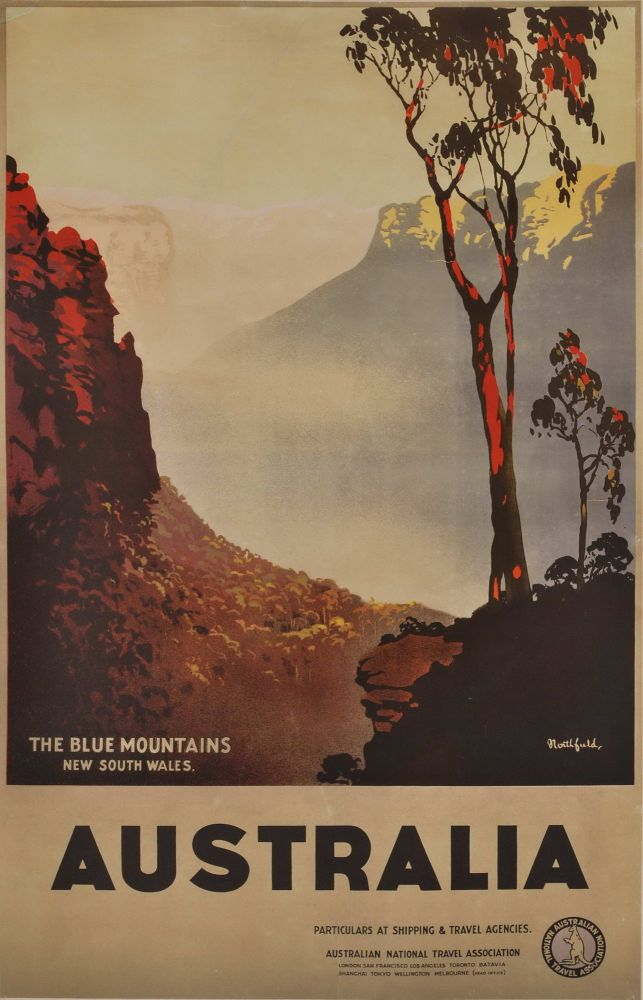 The Blue Mountains, New South Wales, Australia. James Northfield, Aust.