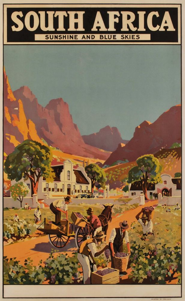 South Africa. Sunshine And Blue Skies. Charles E. Peers, South African.