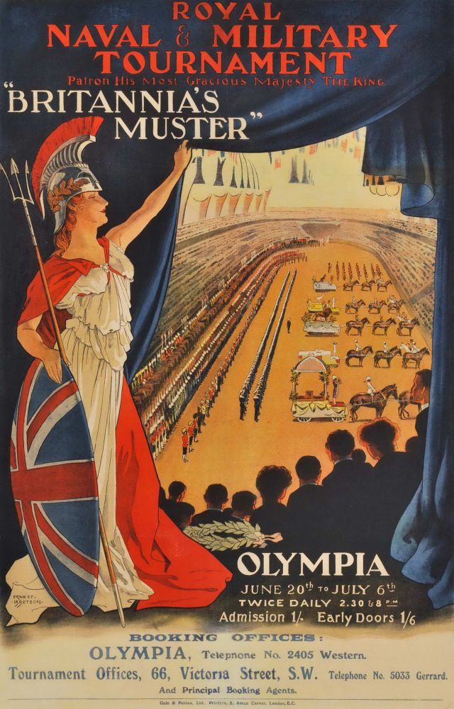 """Britannia's Muster"", Royal Naval & Military Tournament, Olympia"
