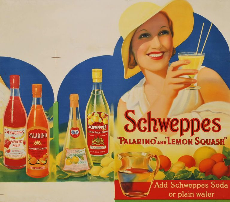 "Schweppes ""Palarino"" And ""Lemon Squash"""