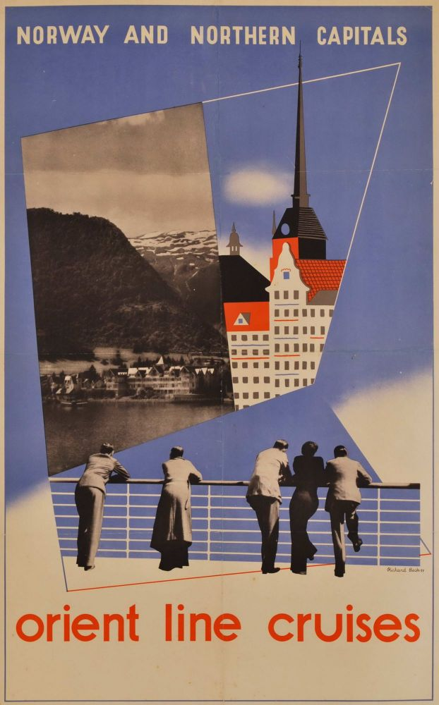 Norway And Northern Capitals. Orient Line Cruises. Richard Beck, Aust.