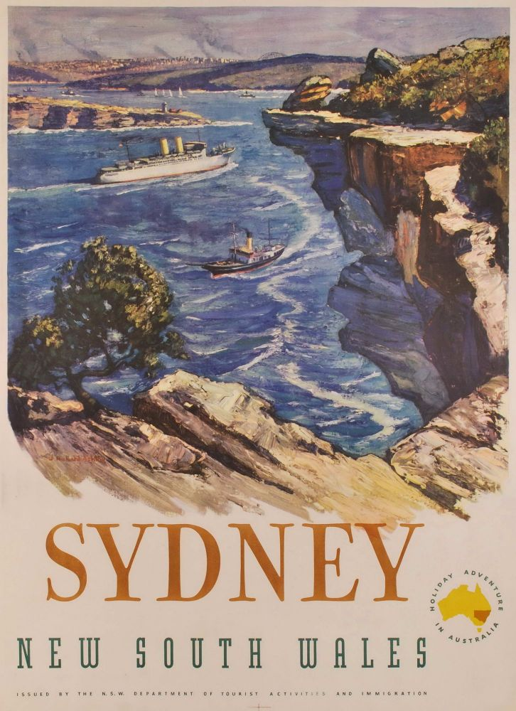 Sydney. New South Wales [From North Head]. Richard Ashton, Aust.