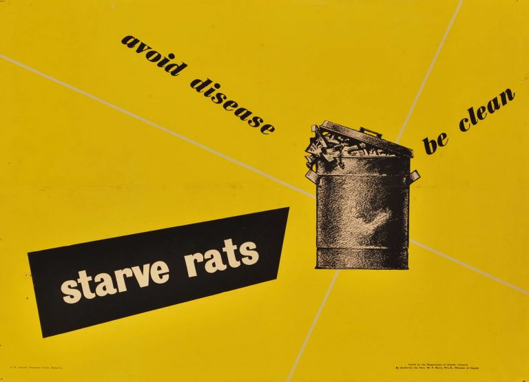 Avoid Disease. Be Clean. Starve Rats