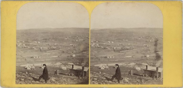 Slatey Creek Diggings, Victoria. Edward Haigh, fl. Aust British, c.