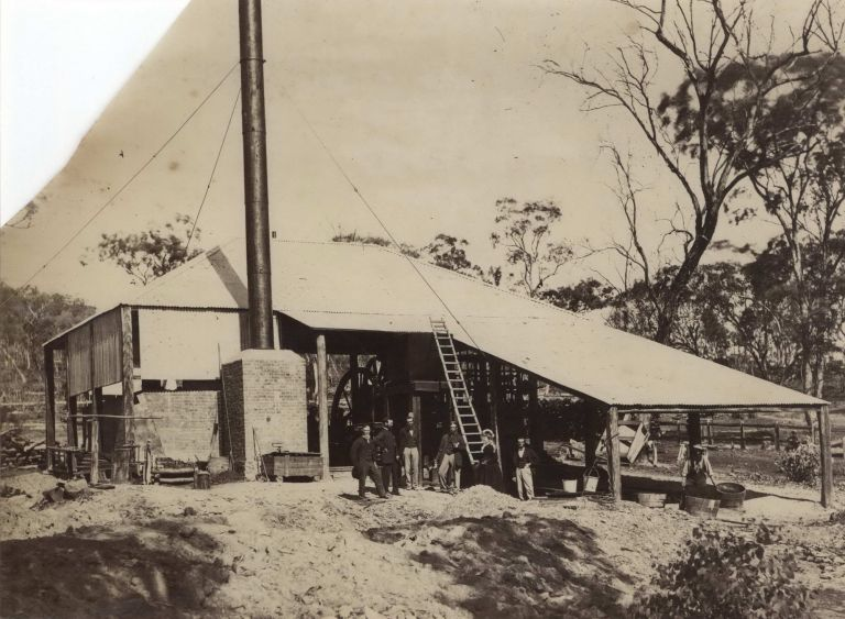 [Hill End Gold Mine, NSW]. Charles Bayliss, Henry Beaufoy Merlin, Aust.