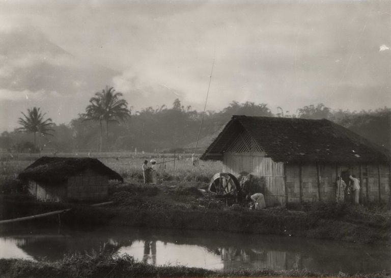 Java. Typical Country Scene. E O. Hoppé, 1878- 1972 Brit.