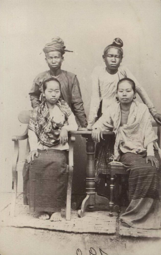Natives Of Burma