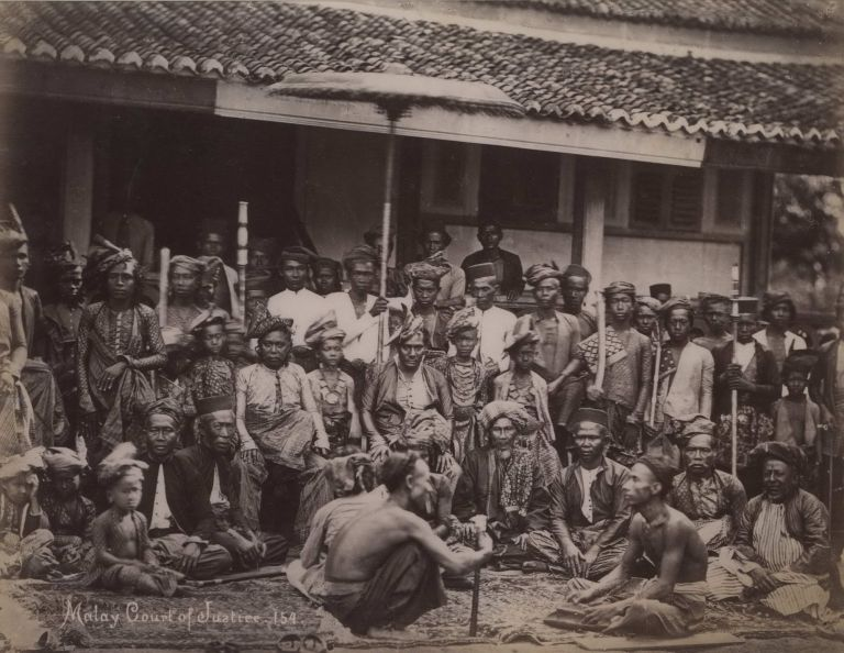 Malay Court Of Justice. G R. Lambert, Co, active c1867-c1914 Singapore.