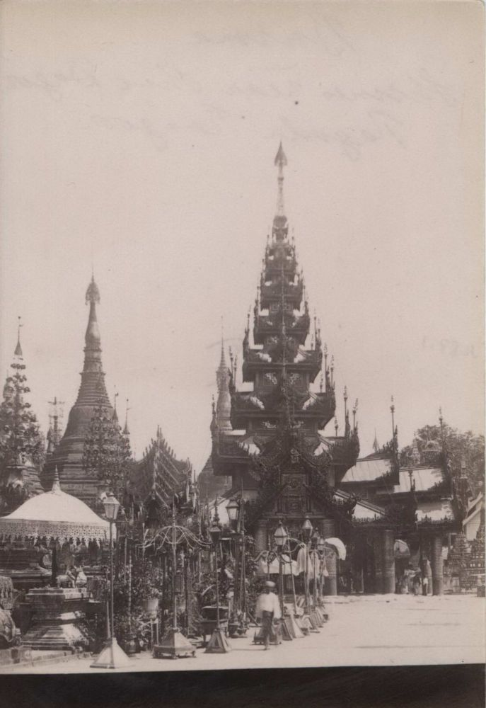 [Views Of Pagodas, Burma]