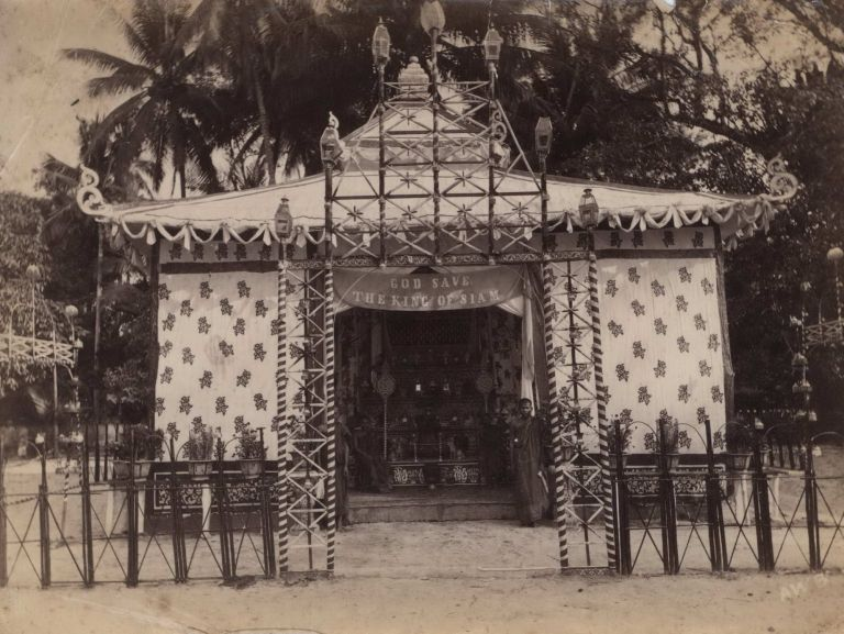[Pavilion For The King Of Siam With Attendants, Thailand]