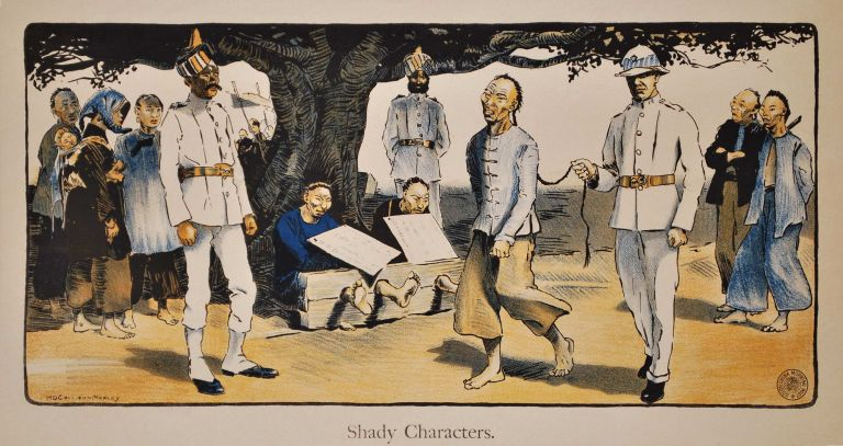 Shady Characters. H D. Collison-Morley, British.