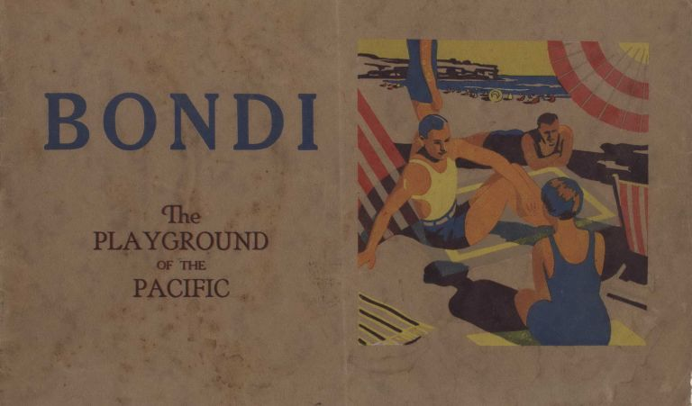 Bondi Beach Booklet and Souvenir Badges (Patches)