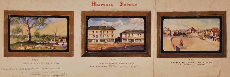 Historic Sydney [Locations Of Anthony Hordern & Sons' Stores]