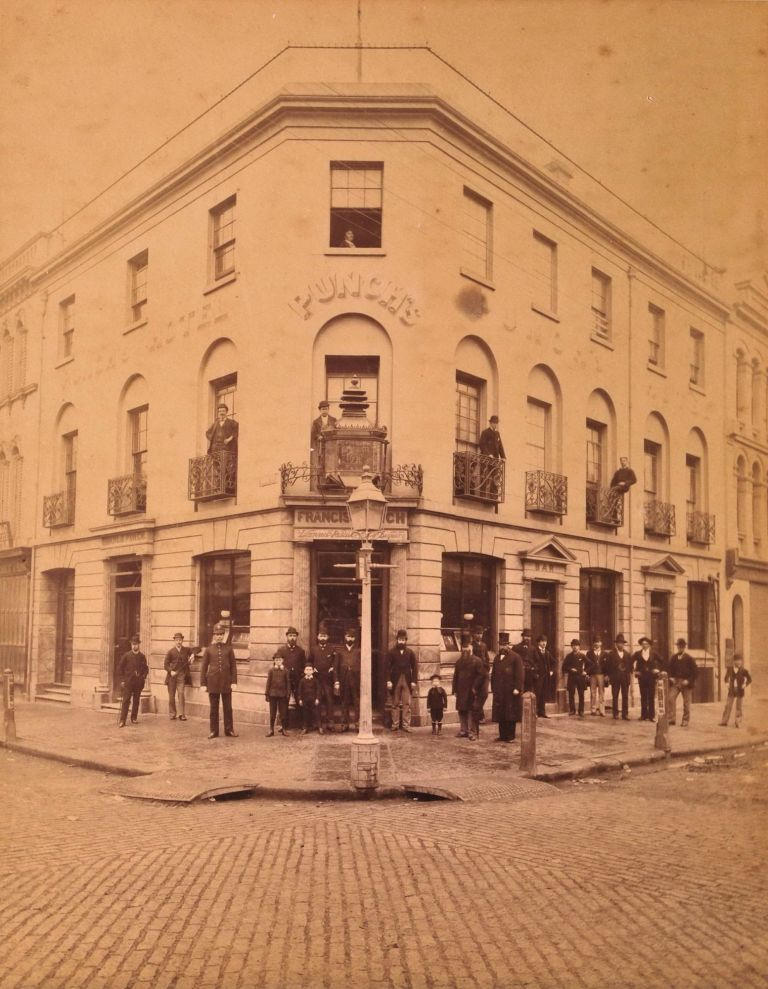 Punch's Hotel, Corner Of Pitt St And King St, Sydney