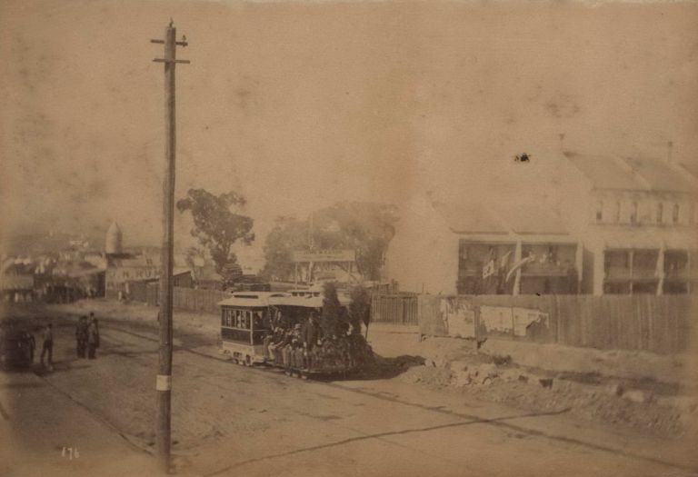 [Sydney Streets, Including Horse-Drawn Transport, And Trams]. fl. c. Aust., s.