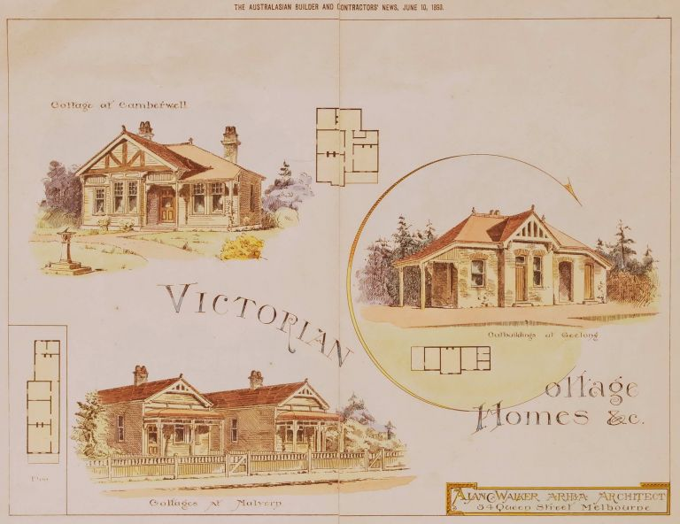 Victorian Cottage Homes
