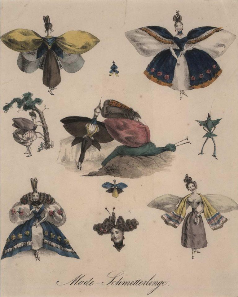 Mode Schmetterlinge (Fashion Butterflies). Anon.