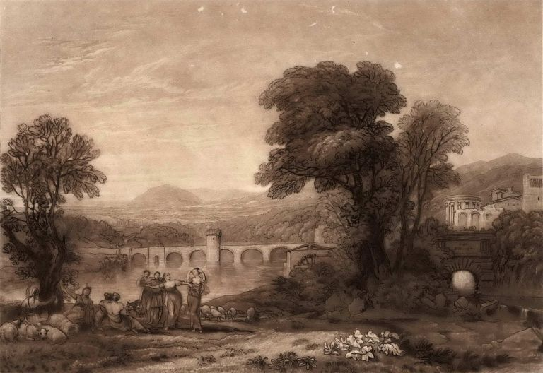 Apuleia In Search Of Apuleius. J M. W. Turner and William Say, British.