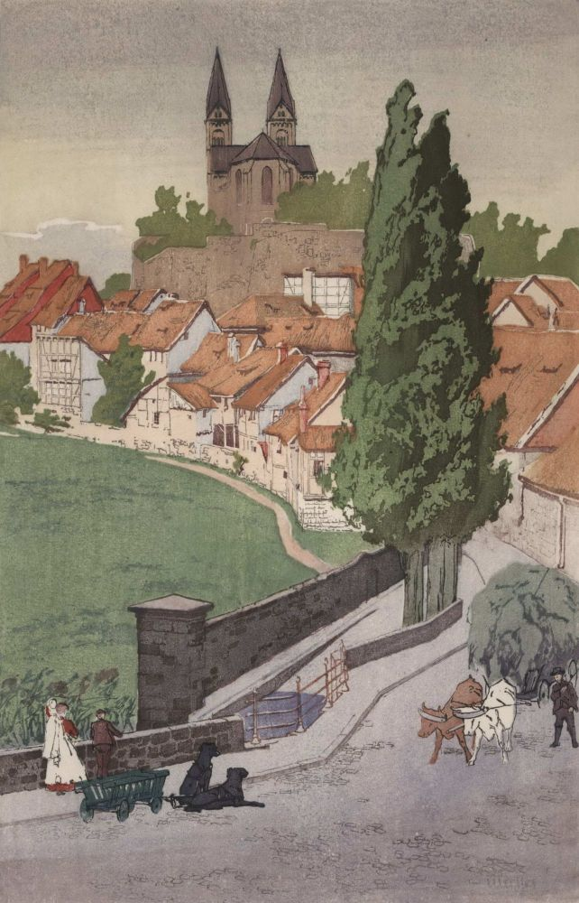 Quedlinburg-Am-Harz [Germany]. William Giles, Brit.