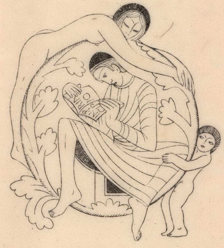 St. Anthony. Eric Gill, Brit.