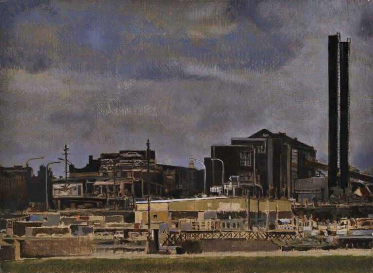 White Bay [Power Station]. Michael Fitzjames, b.1948 Aust.