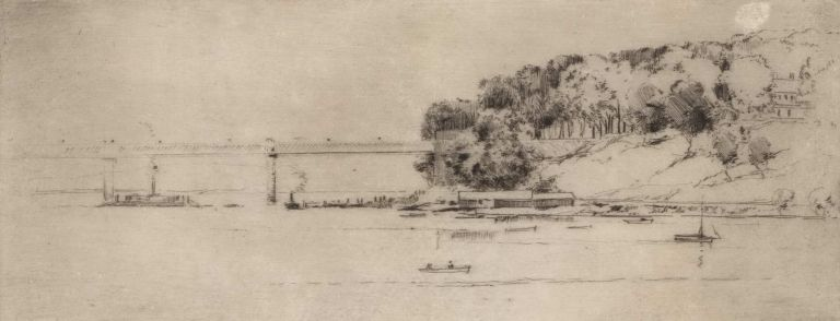 The Crossing, Parramatta River, Ryde. Herbert Gallop, Australian.